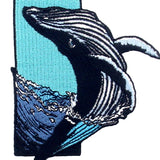 Dolphin Sea Embroidered Iron On Patch