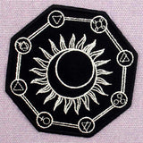 Alchemy Symbol Embroidered Iron On patch