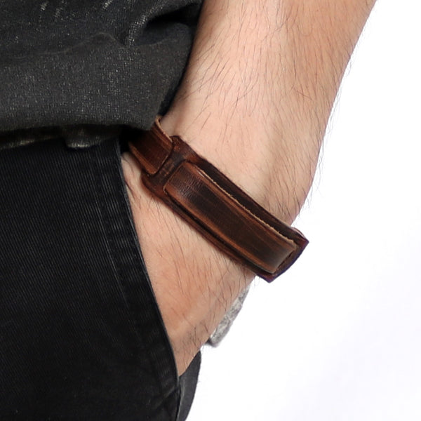 Genuine Leather Bracelets Handmade Vintage Gift Jewelry Accessories Unisex Men Women