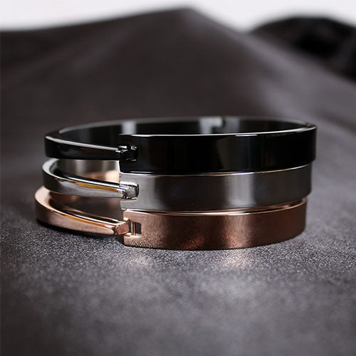Bracelet Metal Minimal Cuff Bangle Gift Jewelry Accessories Women
