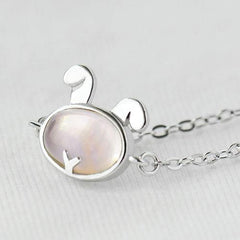 Silver Bracelet Rabbit Charm Bracelets Chain Bracelets Gift Jewelry Accessories Women