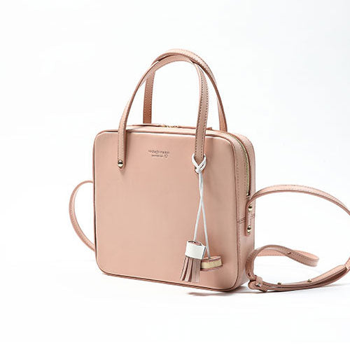 Genuine Leather Women Cute Girl Handbag Purse Bag Crossbody Bag Shoulder Bag