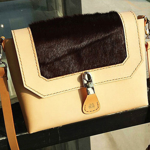 Genuine Leather vintage handmade clutch handbag cross body bag shoulder bag