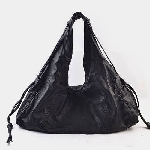 Handmade Leather Fashion Tassels Womens Tote Bag Purse Shoulder Bag