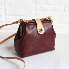 Genuine Leather Handmade Handbag Crossbody Bag Shoulder Bag Clutch Purse Women