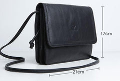 Genuine Leather Cute Crossbody Bag Clutch Wallet Shoulder Bag Women Leather Purse
