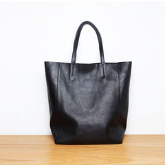 Handmade leather tote women handbag shoulder bag shopper bag
