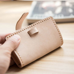 Handmade leather vintage women PERSONALIZED MONOGRAMMED GIFT CUSTOM short wallet clutch coin purse wallet