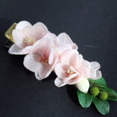Real Preserved Flower Hair Clip Bridal Sakura Floral Cute Gift Hair Jewelry Accessories For Girls