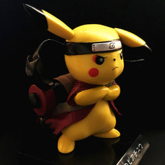Pokemon go Naruto Pikachu Figurine Pikachu Naruto Figure Collectible Model Toy