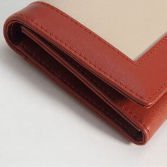 Genuine leather bifolded vintage cute women long short wallet clutch phone purse wallet