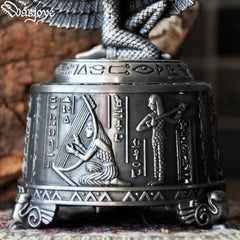 Music Box Egypt Isis Vintage Jewelry Zinc Alloy Gift Accessories Women