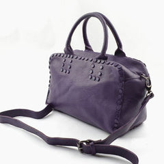 Handmade Leather Cute Womens Handbag Purse Crossbody Bag Shoulder Bag