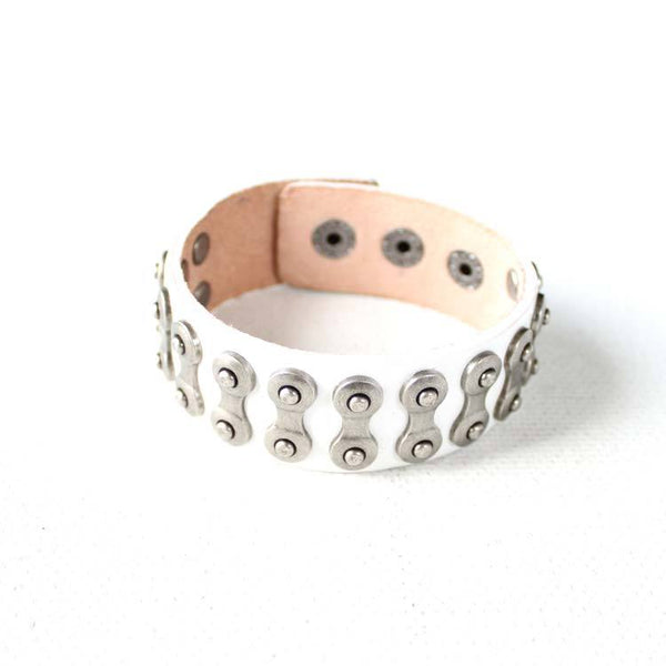 Genuine Leather Bracelets Rivet Studs Punk Gift Jewelry Accessories Unisex Men Women