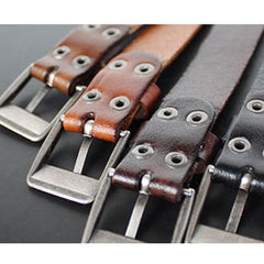 Genuine Leather Bracelets Buckle Vintage Gift Jewelry Accessories Unisex Men Women