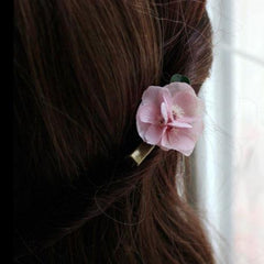 Preserved Flower Hair Clip Sakura Hairpin Bridal Floral Cute Gift Hair Jewelry Accessories For Girls