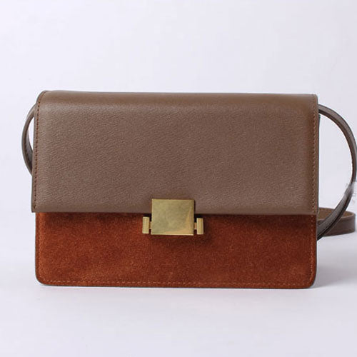 Genuine Leather Women Cute Girl Red Small Crossbody Bag Shoulder Bag