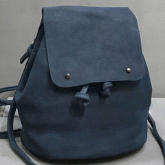 Handmade Leather Cute Womens Backpack Bag Purse Shoulder Bag