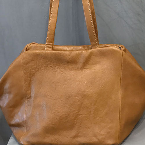 Handmade Leather Vintage Womens Handbag Purse Shoulder Bag