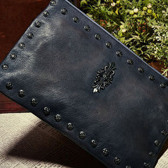 Genuine Leather Vintage handmade clutch