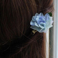 Real Preserved Flower Hair Clip Hairpin Bridal Floral Cute Gift Hair Jewelry Accessories For Girls