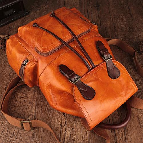 order online various styles website for discount Brown Leather Backpack Best Leather Backpack Womens Bag Purse ...
