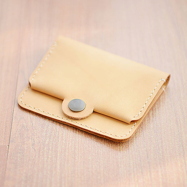 HANDMADE LEATHER CUTE Women Card Change Holder Pouch PERSONALIZED MONOGRAMMED GIFT CUSTOM Coin Wallet Holder