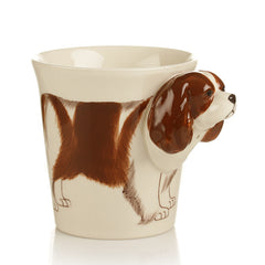 Handmade cute coffee milk mug animal Cavalier King Charles Spanieln pet dogs 3d Funny Birthday Gift Gift for Her Holiday Gift Christmas Gift