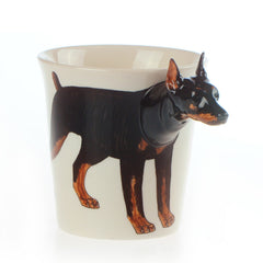 Handmade cute coffee milk mug animal Aberdeen Terrier pet dogs 3d Funny Birthday Gift Gift for Her Holiday Gift Christmas Gift