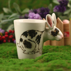 Handmade cute coffee milk mug animal Pig 3d Funny Birthday Gift Gift for Her Holiday Gift Christmas Gift