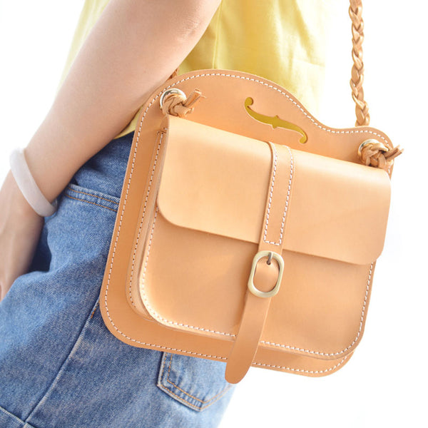 Handmade Leather Cute Camel Small Shoulder Bag Personalized Monogrammed Gift Custom Women Crossbody Bag Purse Shoulder Bag Purse