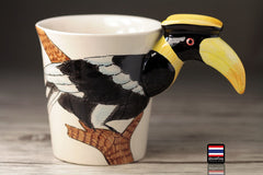 Handmade cute coffee milk mug animals Toucan 3d Funny Birthday Gift Gift for Her Holiday Gift Christmas Gift