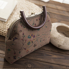 Handmade women clutch doupion silk Chinese embroidery shoulder bag handbag clutch long women wallet