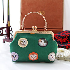 Handmade women clutch doupion silk brocade Chinese embroidery shoulder bag clutch long women wallet