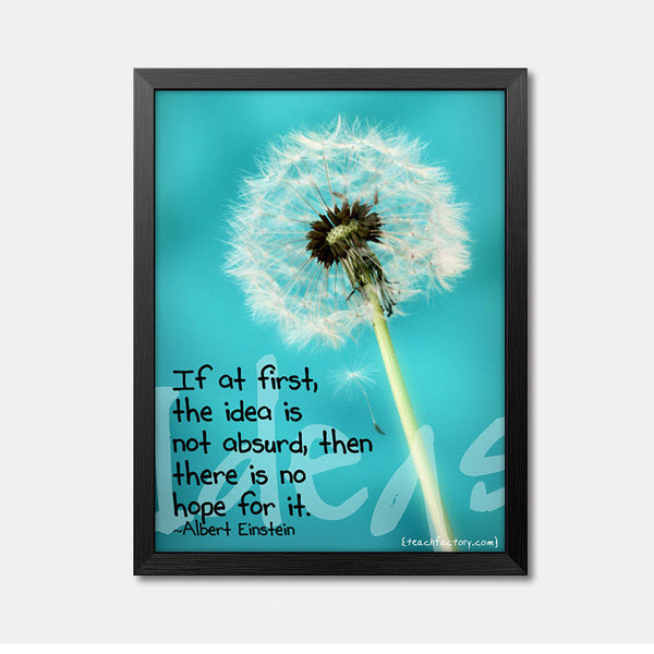 Nursery Wall Art Framed Poster dandelion Framed Art Animal Decor frame print gallery wall frame set home decor