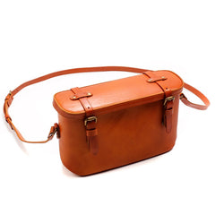 Handmade leather vintage women purse doctor bag shoulder bag crossbody bag