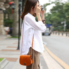 Handmade leather purse women Phone bag shoulder bag crossbody bag