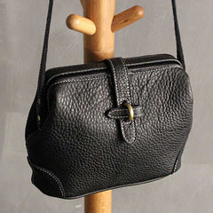 Handmade leather vintage women purse shoulder bag crossbody bag