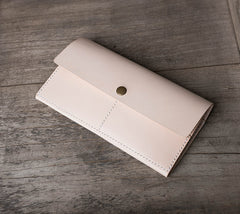Handmade leather vintage women PERSONALIZED MONOGRAMMED GIFT CUSTOM long wallet clutch phone purse wallet