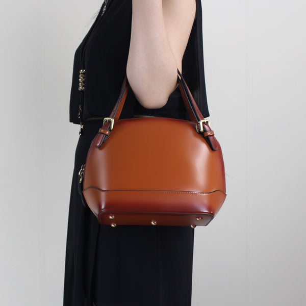 Leather handbag shoulder bag yellow brown black red gray for women leather crossbody bag