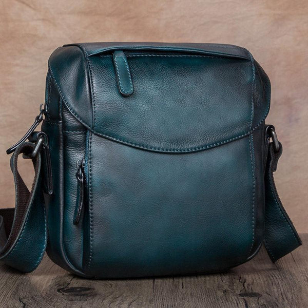 Blue Messenger Bags Small Side Shoulder Bag