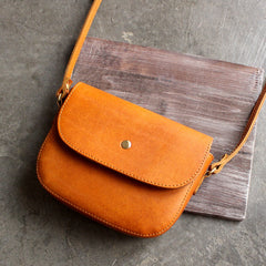 Handmade leather vintage women satchel bag shoulder bag crossbody bag