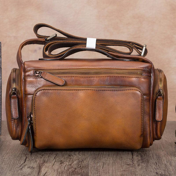 Brown Satchel Bag Side Shoulder Bag Camera Bags Purses