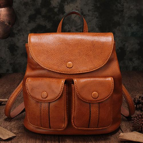 Vintage Leather Bags Backpacks Handbags Shoulder Crossbody Bags Purses
