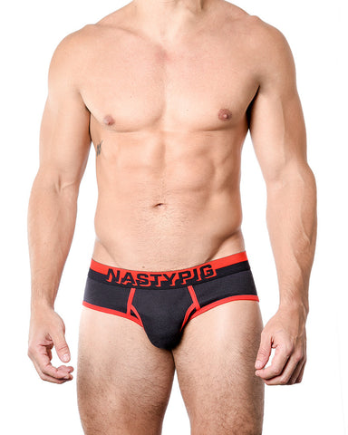 Nasty Pig 3D Brief Underwear - Red