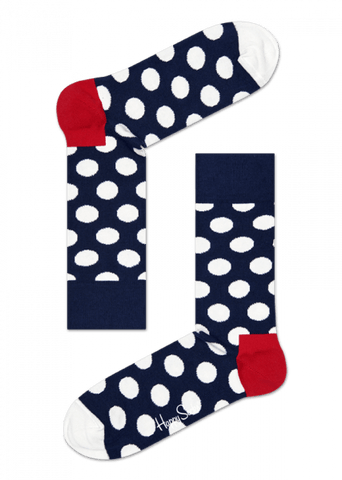 Happy Socks - Big Dot Sock (In Store Sales Only)