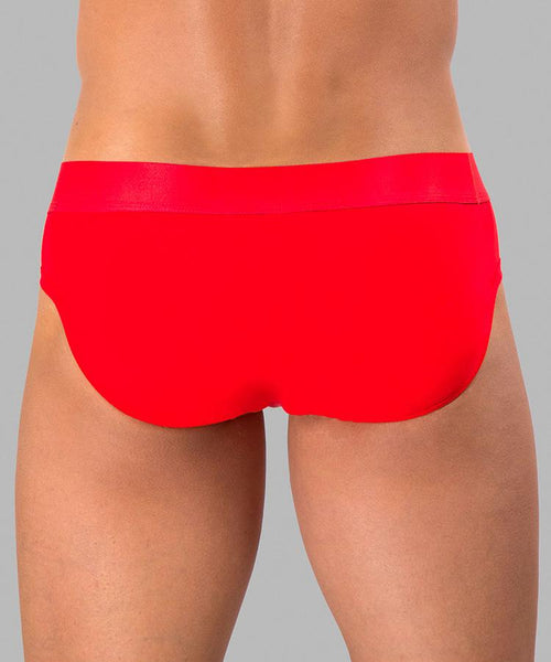 Rounderbum PRIDE Padded Brief - Red