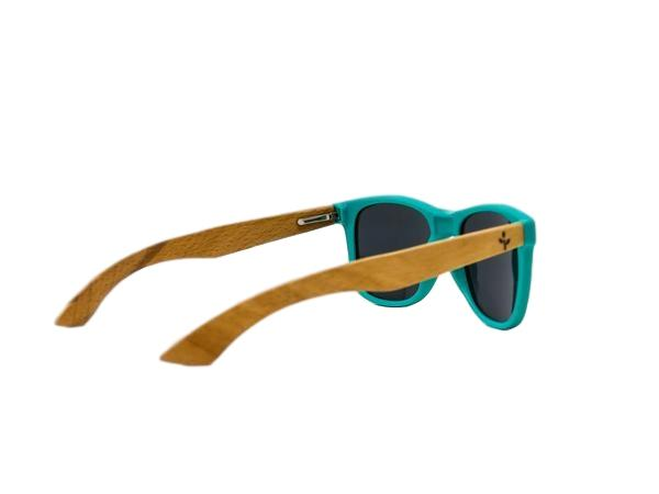 Wearwood - Teal Beach Wood Sunglasses