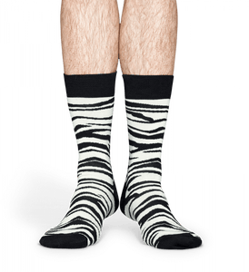 Happy Socks - Zebra Sock (In Store Sales Only)