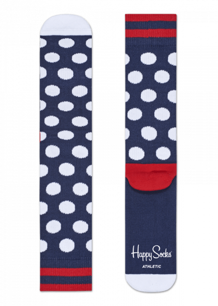 Happy Socks - Athletic Big Dot Sock (In Store Sales Only)